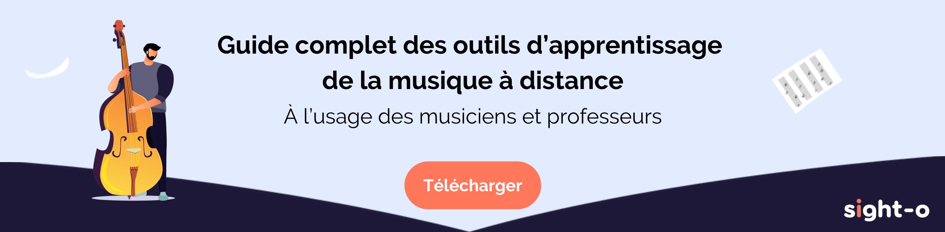Guide complet des outils d'apprentissage de la musique à distance
