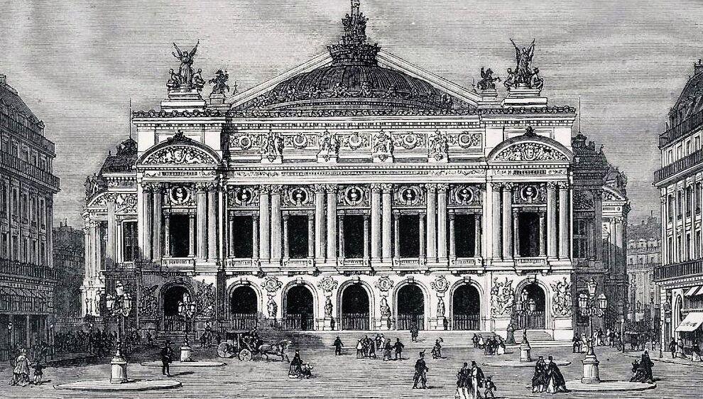 l'opéra : ses débuts
