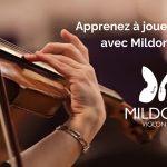 Apprendre à jouer du Violon en ligne avec Mildor Violon