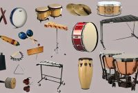 The family of percussion instruments